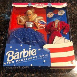 1991 Barbie for President